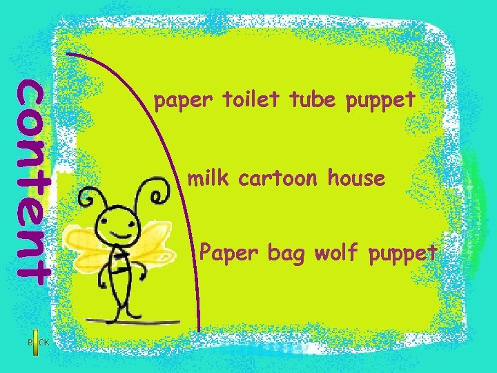 paper toilet tube puppet milk cartoon house Paper bag wolf puppet
