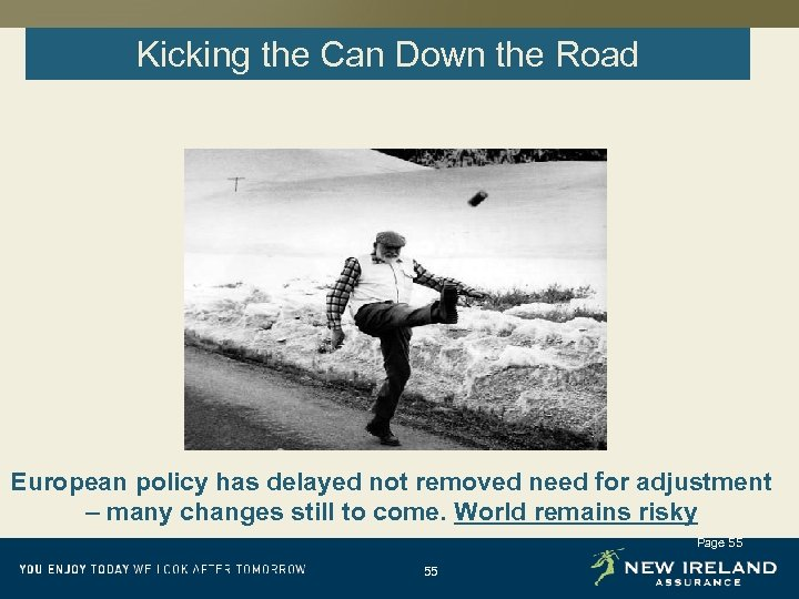 Kicking the Can Down the Road European policy has delayed not removed need for