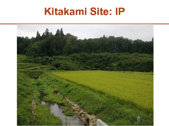 Kitakami Site: IP 30