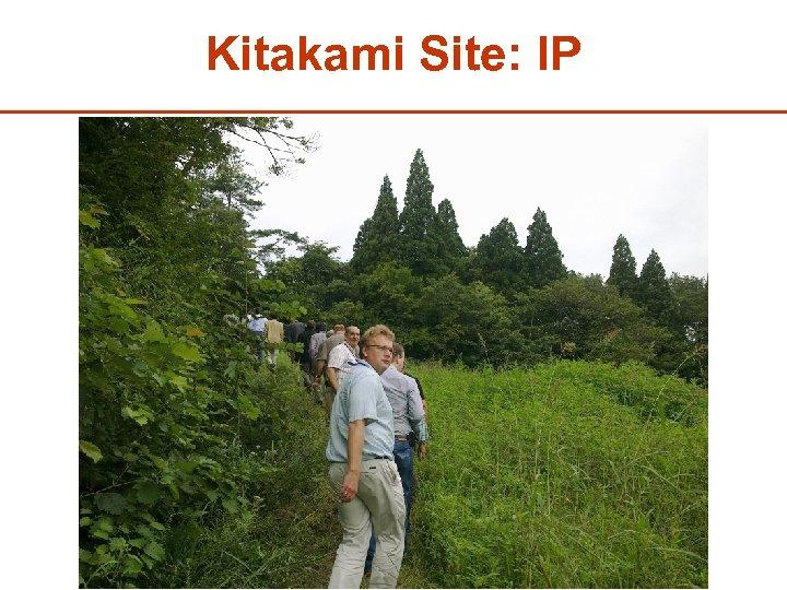 Kitakami Site: IP 31