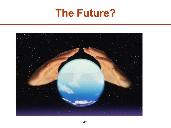 The Future? 47