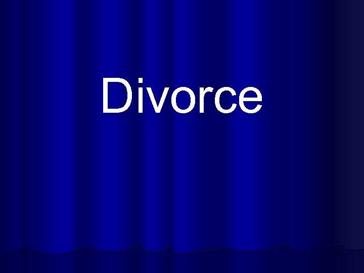 Divorce 27