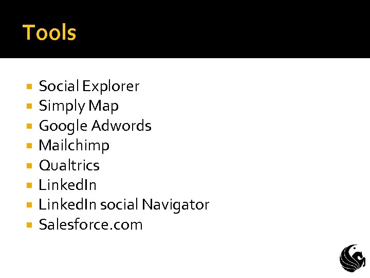 Tools Social Explorer Simply Map Google Adwords Mailchimp Qualtrics Linked. In social Navigator Salesforce.