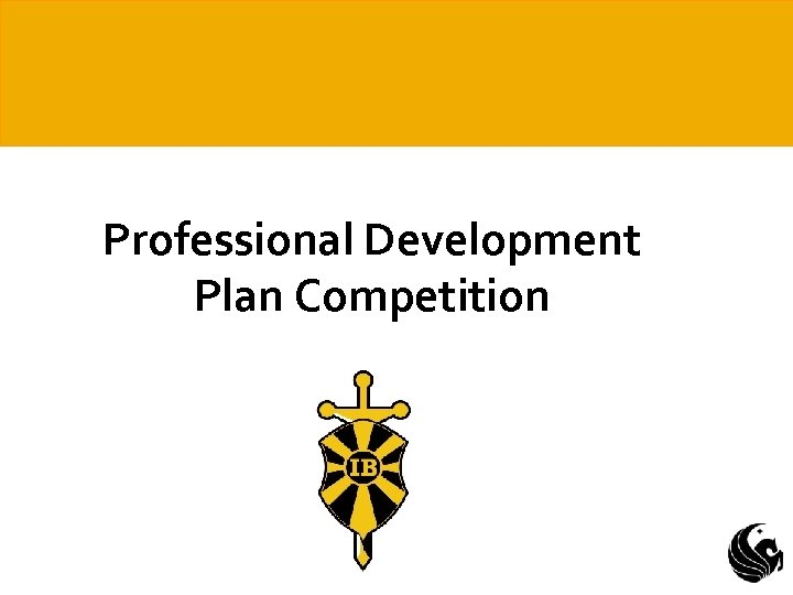 Professional Development Plan Competition