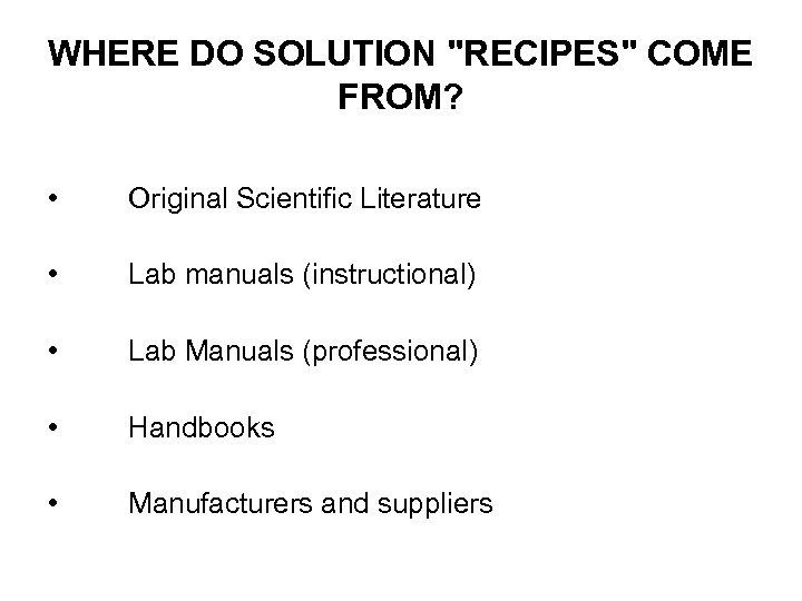 WHERE DO SOLUTION