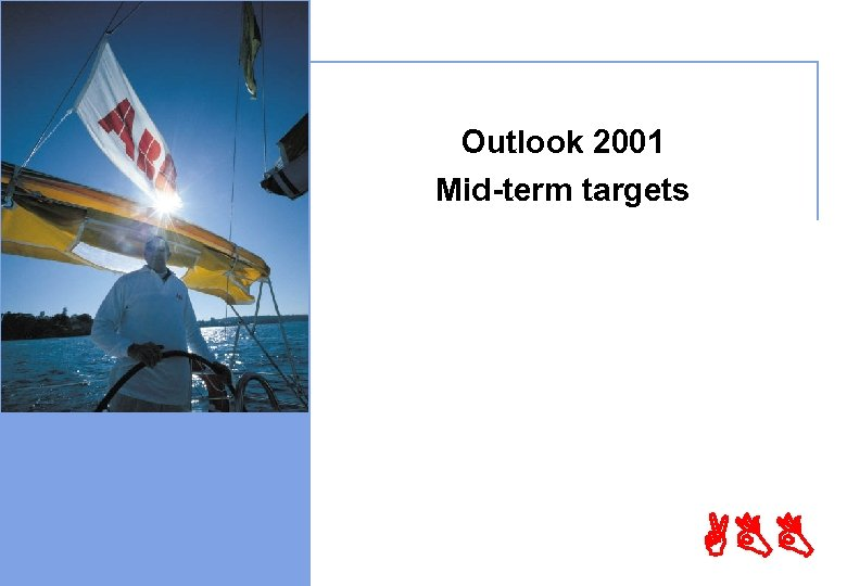 © ABB Ltd - Page 29 Outlook 2001 Mid-term targets ABB