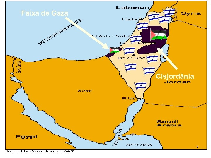 Faixa de Gaza Cisjordânia 8