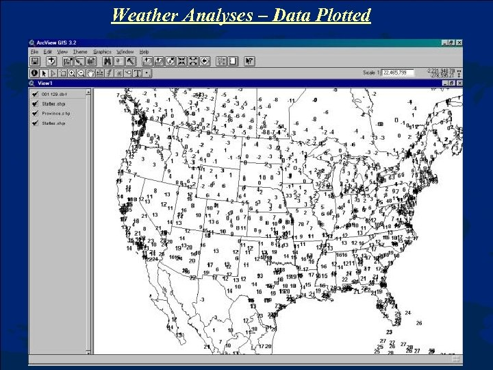 Weather Analyses – Data Plotted
