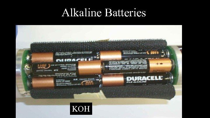 Alkaline Batteries KOH