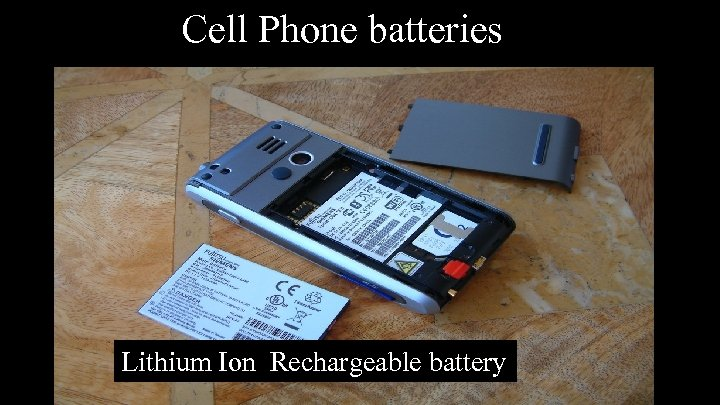 Cell Phone batteries Lithium Ion Rechargeable battery