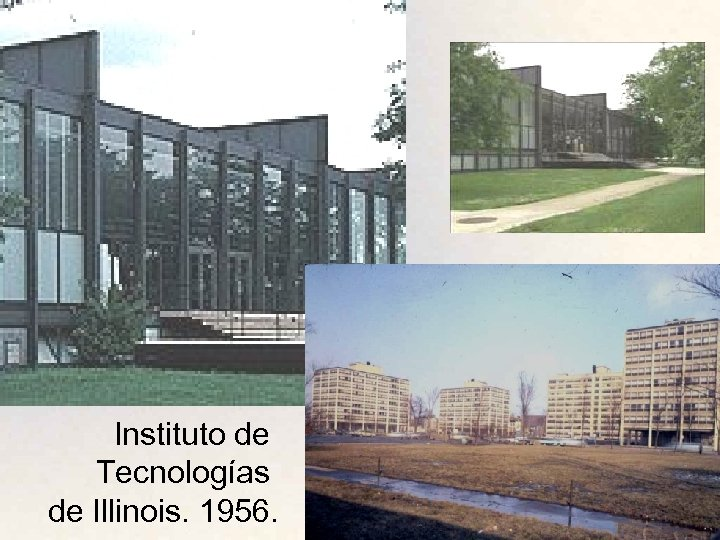 Instituto de Tecnologías de Illinois. 1956.
