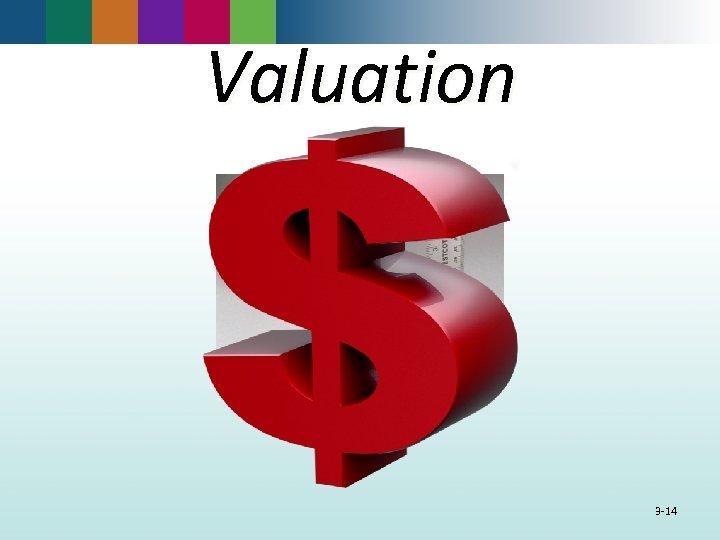 Valuation 3 -14