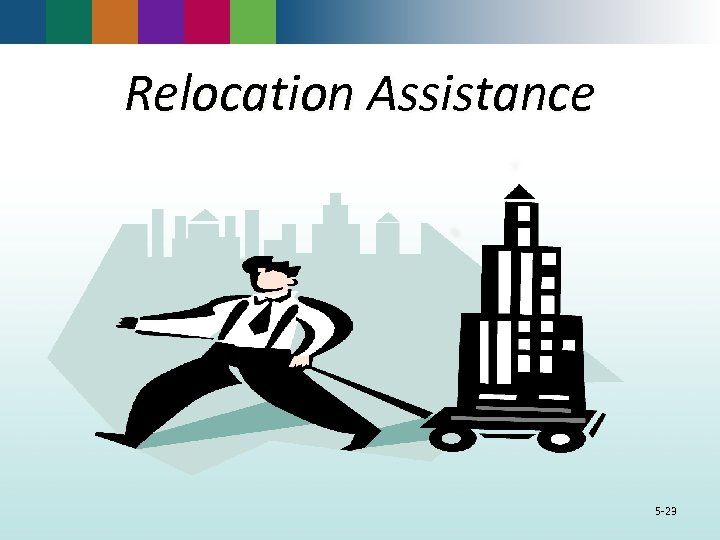 Relocation Assistance 5 -23