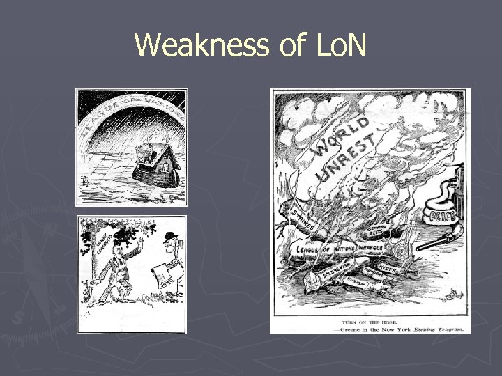 Weakness of Lo. N