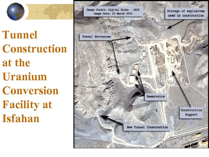 Tunnel Construction at the Uranium Conversion Facility at Isfahan