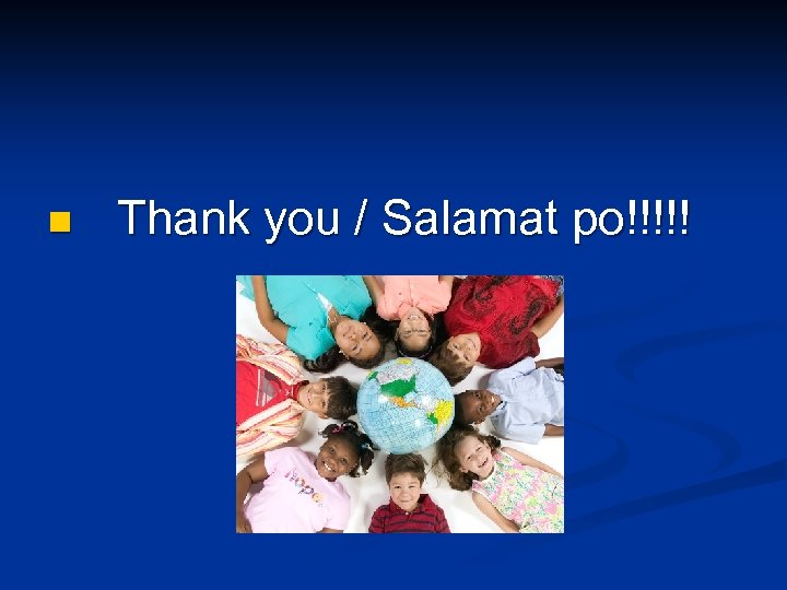 n Thank you / Salamat po!!!!!