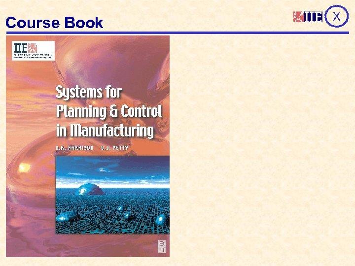 Course Book X