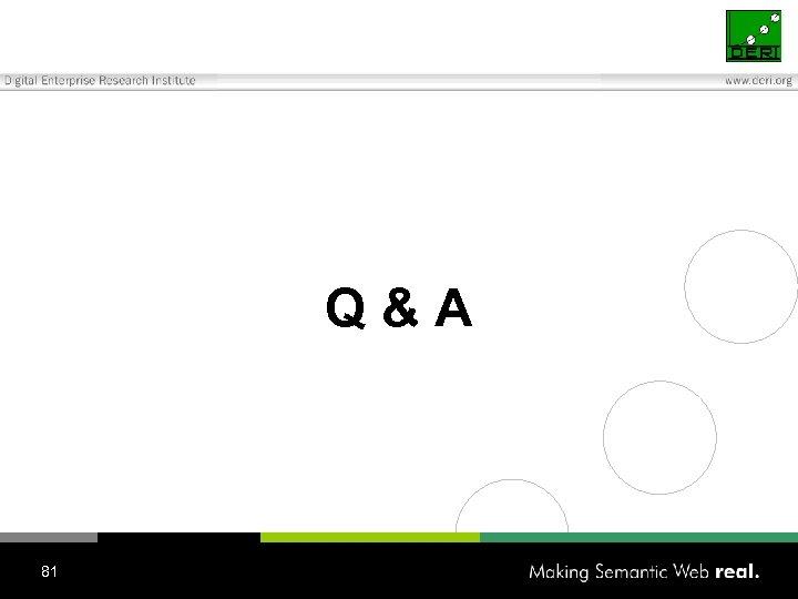 Q&A 81