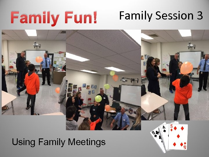 Family Fun! Using Family Meetings Family Session 3