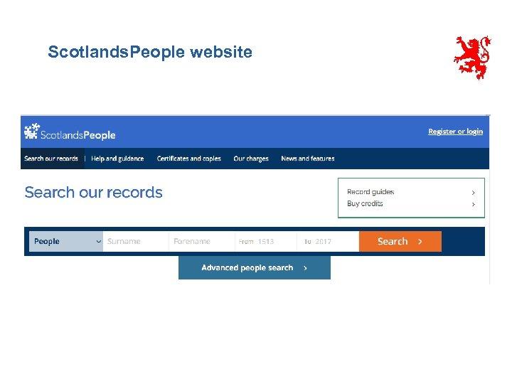 Scotlands. People website