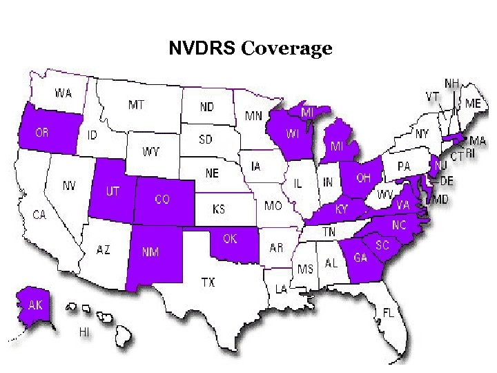 NVDRS Coverage