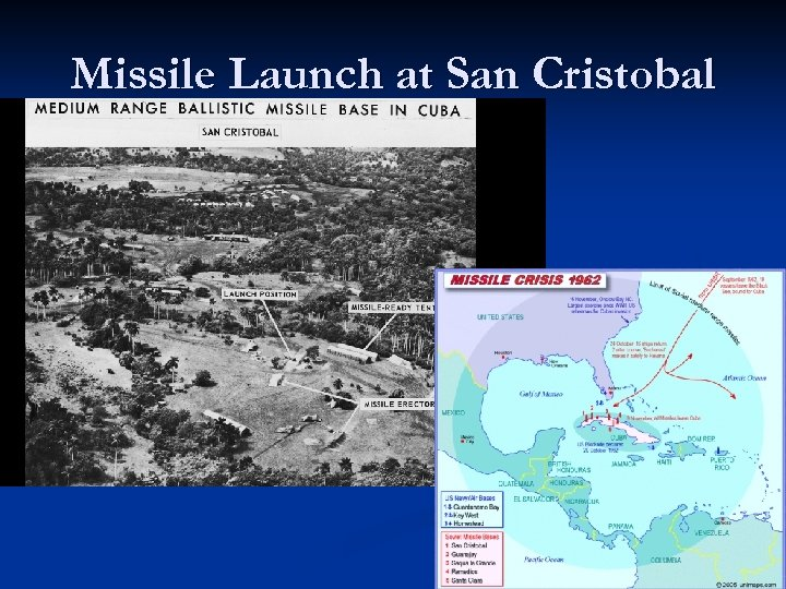 Missile Launch at San Cristobal