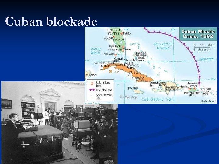 Cuban blockade