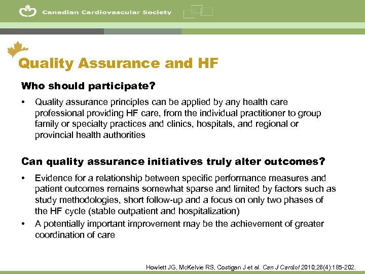 51 Quality Assurance and HF Who should participate? • Quality assurance principles can be