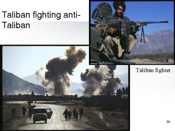 Taliban fighting anti. Taliban fighter 56