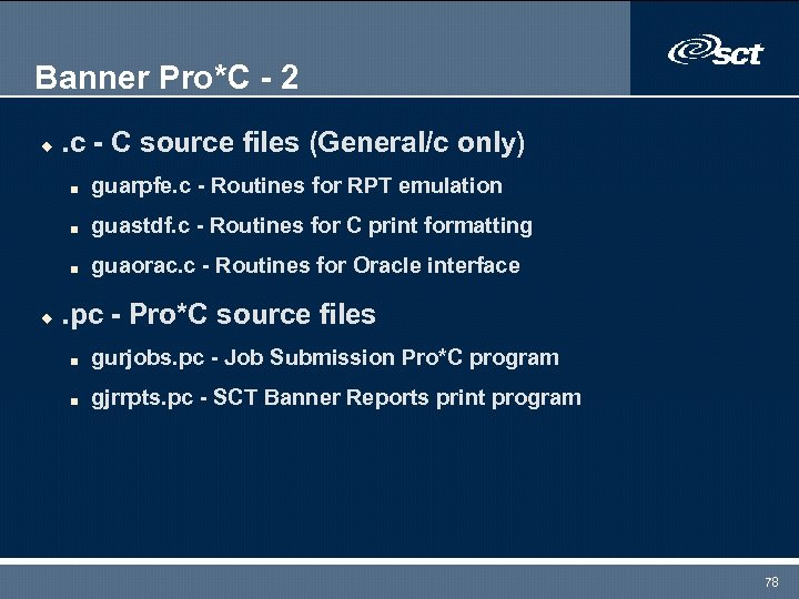 Banner Pro*C - 2 u . c - C source files (General/c only) n
