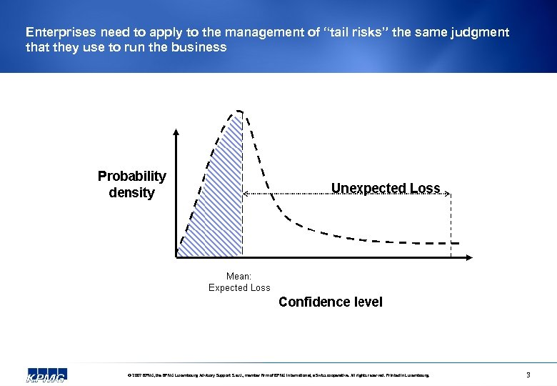 "Enterprises need to apply to the management of ""tail risks"" the same judgment that"