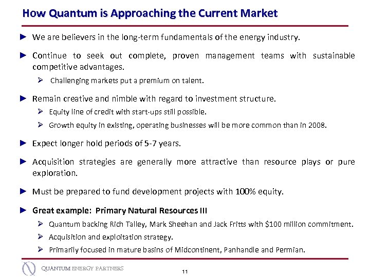 How Quantum is Approaching the Current Market ► We are believers in the long-term