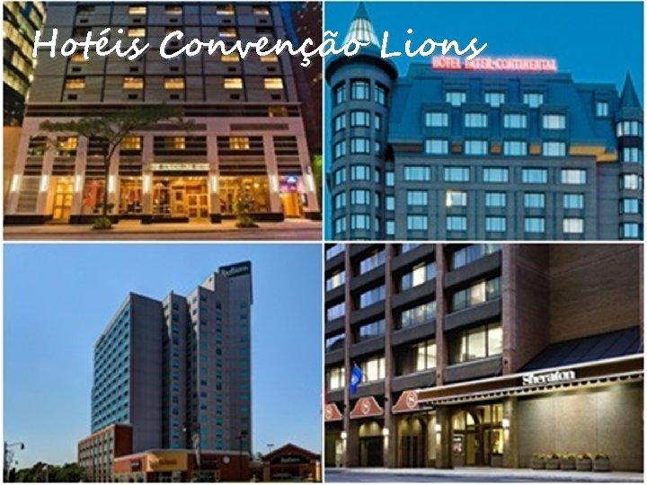 Hotéis Convenção Lions
