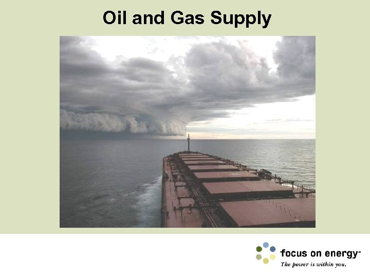 Oil and Gas Supply