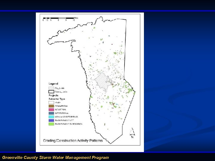 Greenville County Storm Water Management Program
