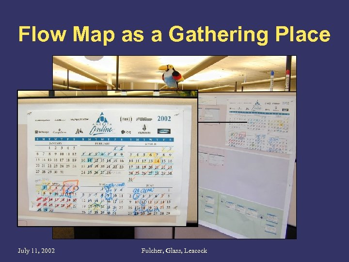 Flow Map as a Gathering Place July 11, 2002 Fulcher, Glass, Leacock