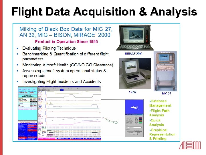 Flight Data Acquisition & Analysis