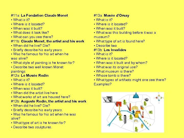 #11 a: La Fondation Claude Monet • What is it? • Where is it
