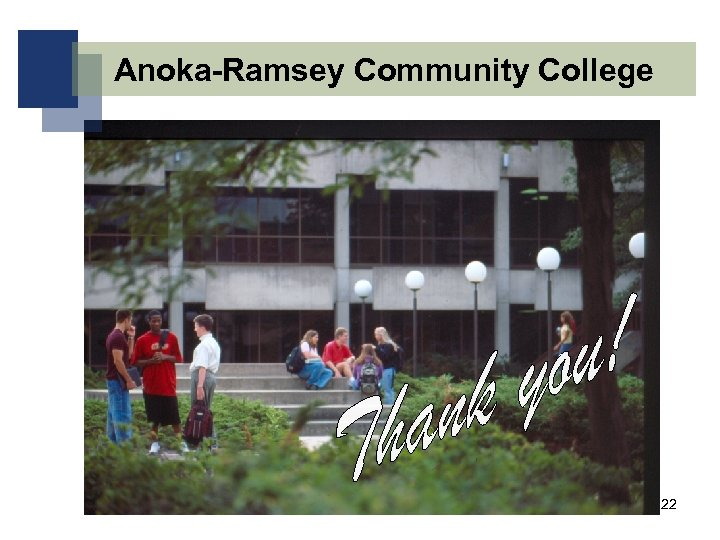 Anoka-Ramsey Community College 22
