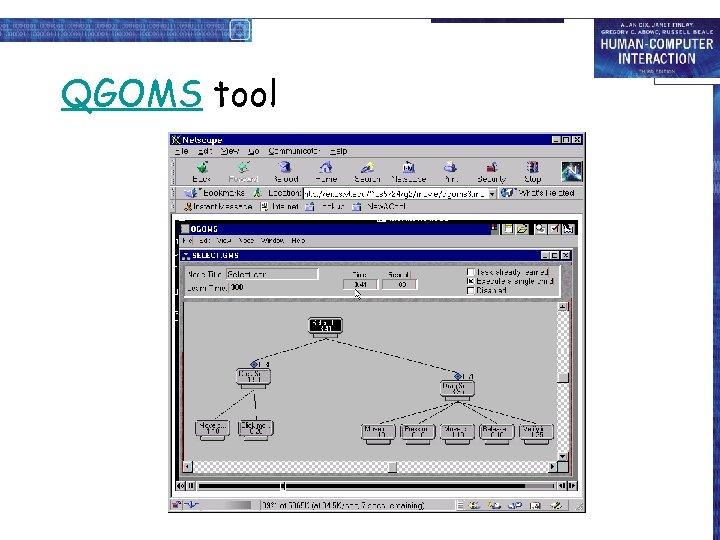 QGOMS tool