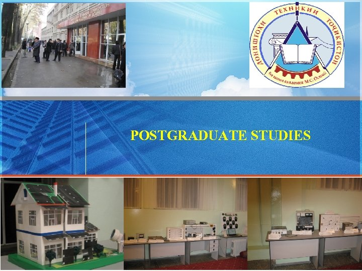 POSTGRADUATE STUDIES