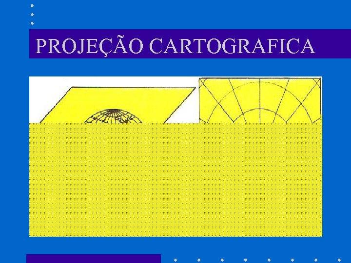PROJEÇÃO CARTOGRAFICA
