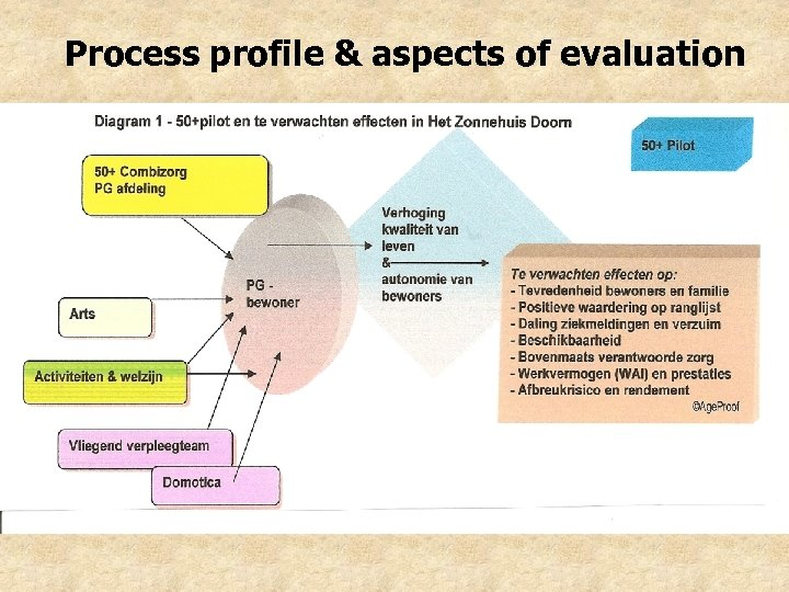 Process profile & aspects of evaluation