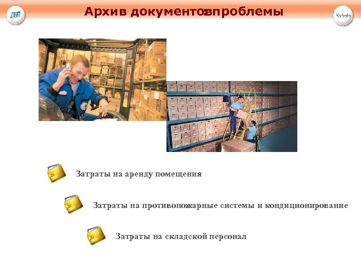 Архив документовпроблемы : Затраты на аренду помещения Затраты на противопожарные системы и кондиционирование Затраты