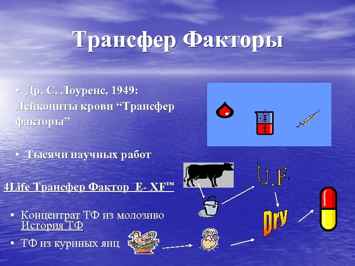 """Трансфер Факторы • Др. С. Лоуренс, 1949: Лейкоциты крови """"Трансфер факторы"""" • Тысячи научных"""