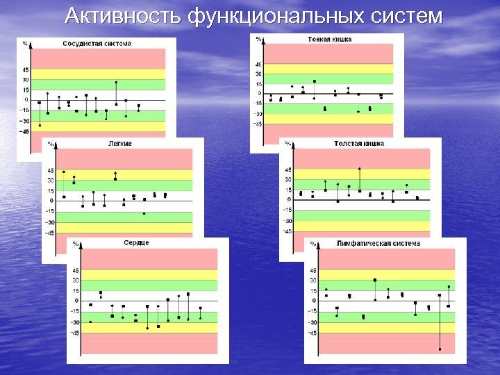 Активность функциональных систем