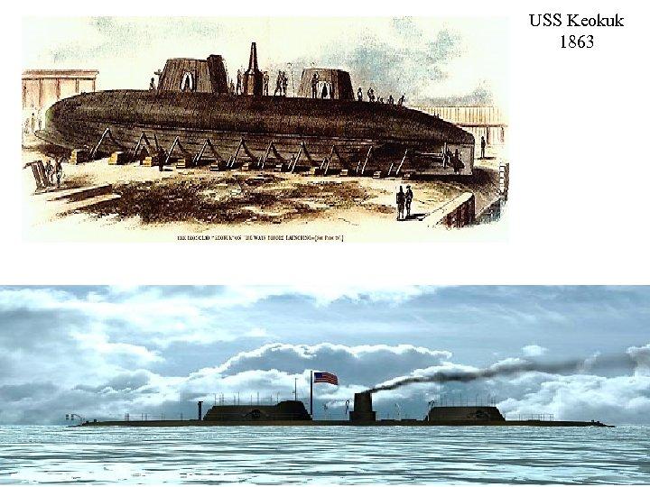 USS Keokuk 1863