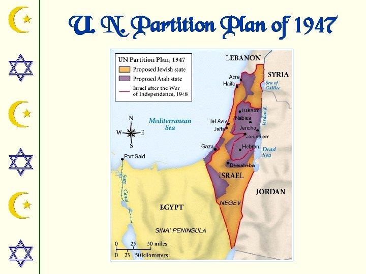 U. N. Partition Plan of 1947