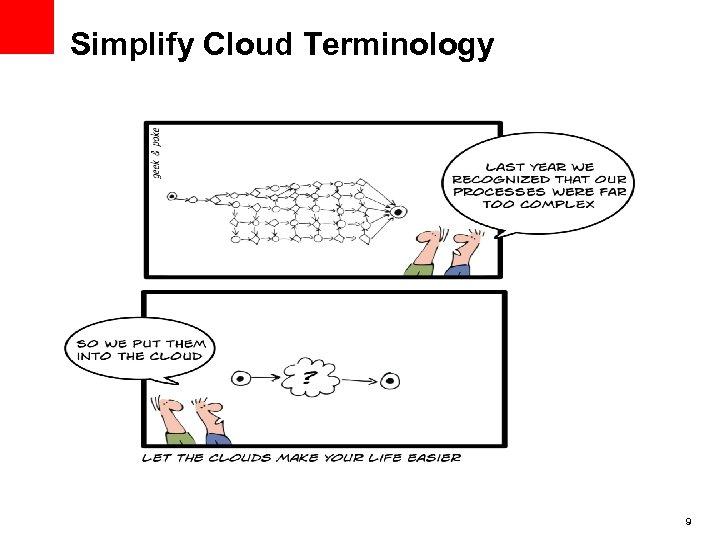 Simplify Cloud Terminology 9