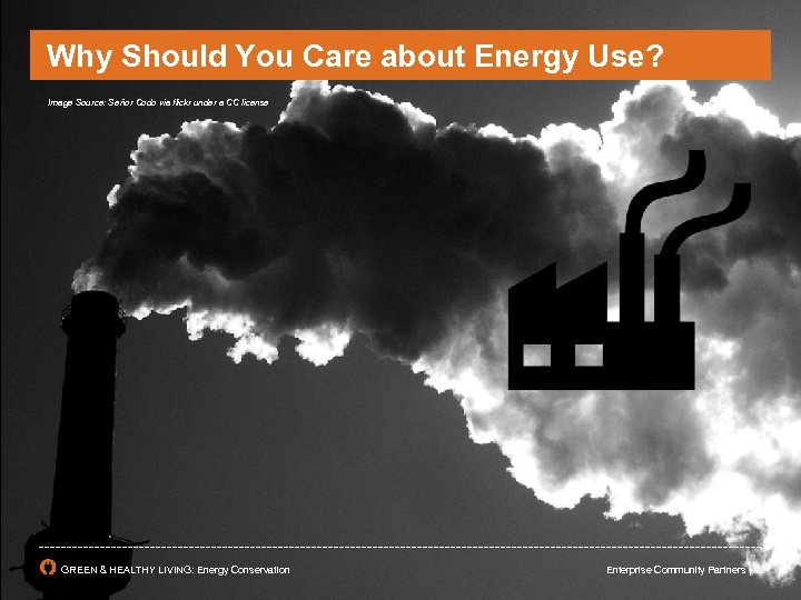 Why Should You Care about Energy Use? Image Source: Señor Codo via flickr under